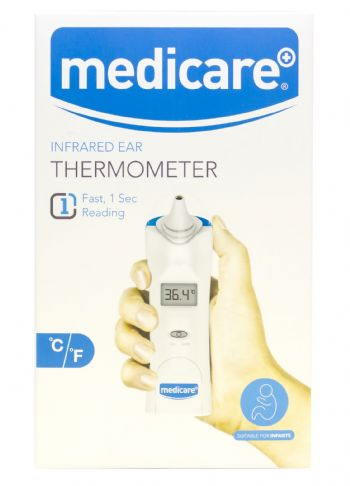 Medicare Ear Thermometer with Probe Covers